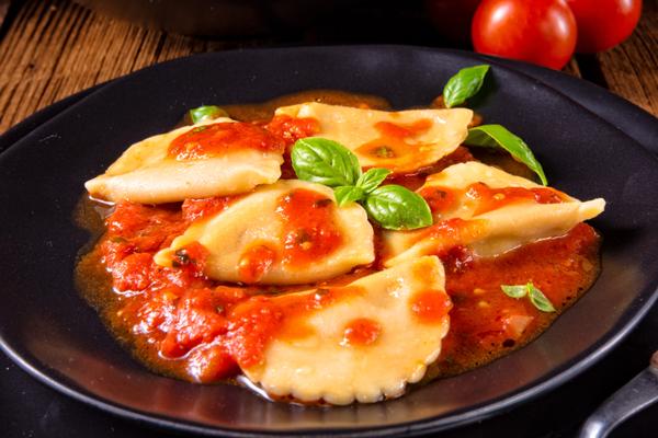 Boulettes de légumes à la sauce tomate