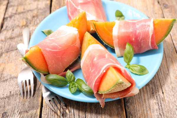 melon et jambon recipe