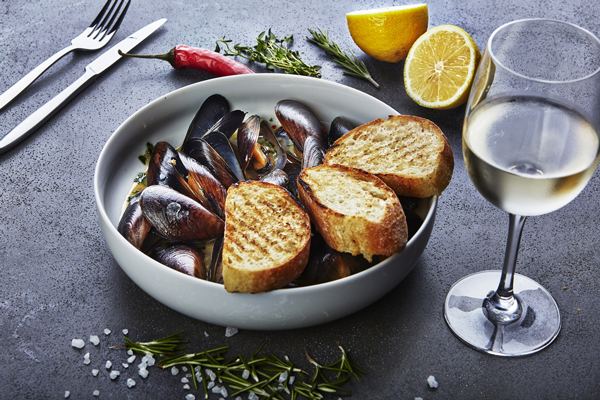 moules au vin blanc recipe