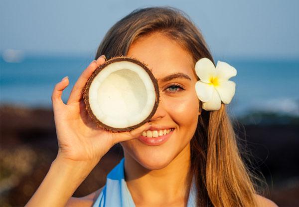 Nettoyant visage coco naturel fait maison